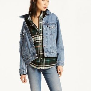 ♥️ Levi's Ex-Boyfriend Trucker Jacket ♥️